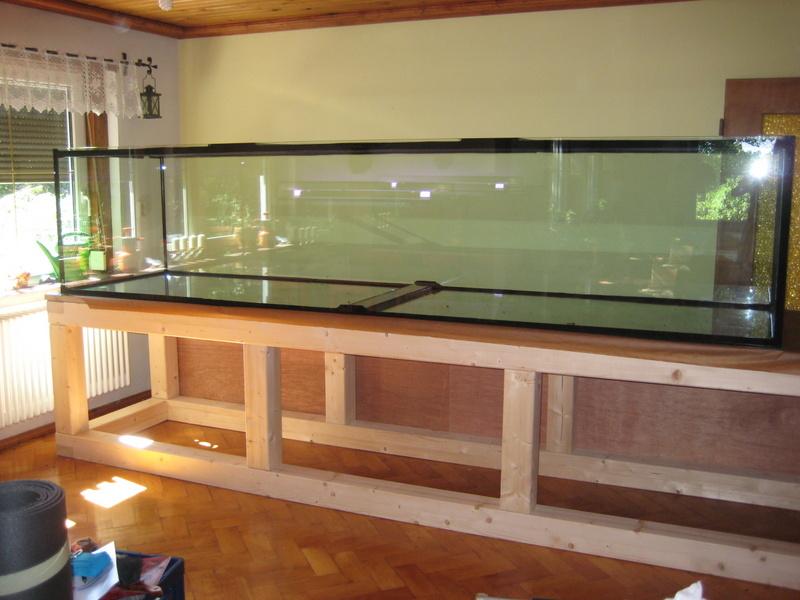 Aquarium-Haase-Vorortmontage